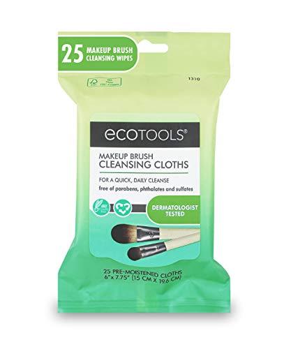 EcoTools, salviette per la pulizia dei pennelli da trucco