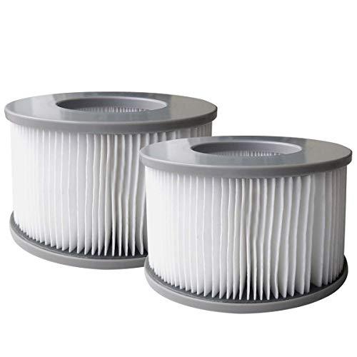 BRAST MSpa Whirlpool Ersatz Filter Filterkartusche Wasserfilter 2er Set