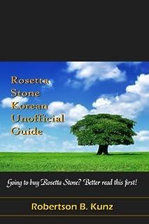 Rosetta Stone Korean Unofficial Guide