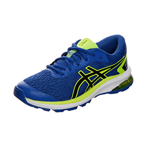 Asics GT-1000 9 GS, Running Shoe Unisex-Child, Directoire Blue/Black, 37.5 EU