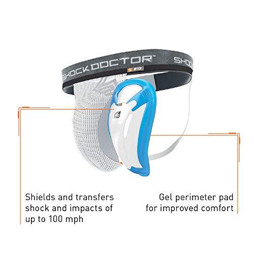 ShockDoctor Herren Tiefschutz Suspensorium mit Bioflex Cup Abbildung 3