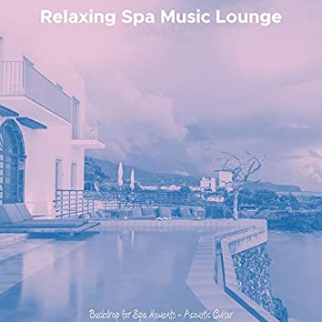Backdrop for Spa Moments - Acoustic Guitar