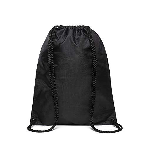Vans League - Borsa da panchina per bagagli, unisex, Distorsione nera. (Nero) - VA2W6
