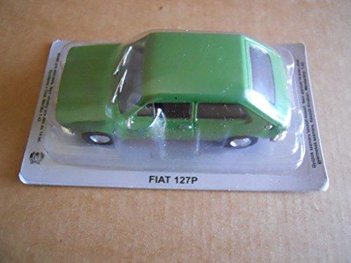Fabbri Legendary Cars Fiat 127 P Verde Die Cast 1:43 [MV22]