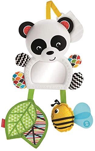 Fisher-Price Panda activity de paseo, juguete colgante para bebé recién nacido (Mattel FGH91)