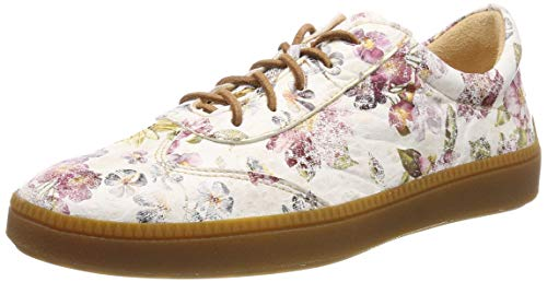 Think! Damen TURNA_484041 Sneaker, Elfenbein (Ivory/Kombi 94), 39 EU
