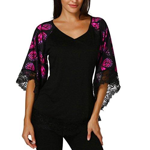 FAMILIZO Camisetas Mujer Verano Blusa Mujer Elegante