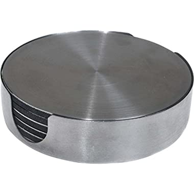 Thirstystone Stainless Steel Round Coaster, Multicolor