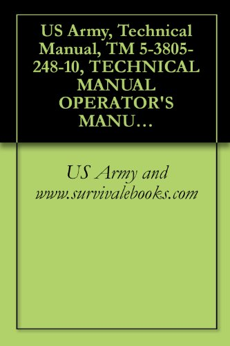 US Army, Technical Manual, TM 5-3805-248-10, TECHNICAL MANUAL OPERATOR'S MANUAL FOR SCRAPER, EARTH M