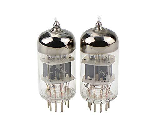 Flashing 6N1 Tubo De Vacío AMP Clase J Válvula De Vadrudo Militar Reemplazar La Válvula ECC85 6H1N para El Amplificador De Audio HiFi Mejore El Sonido 2pcs