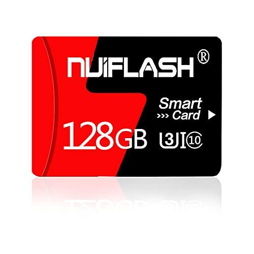 Tarjeta Micro SD de 128 GB con adaptador de tarjeta SD clase 10 de alta velocidad para cámara, teléfono, ordenador, Dash Came, tacógrafo, tableta, dron