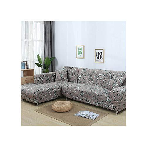 Cheryl Norri L-Form Sofa-Abdeckung Wrap All Inclusive rutschfest Sofa Sitz Couch HUSSEN Sofa Handtuch, 5893, Ab 230-300Cm