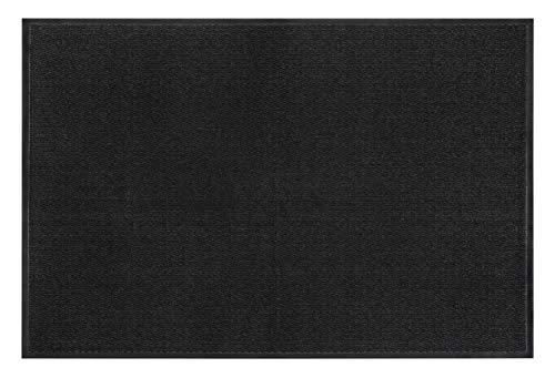 andiamo Schmutzfangmatte, Fußmatte aus Polypropylen – Indoor/Outdoor geeignet - in 60 x 80 cm Anthrazit – 5 mm Höhe