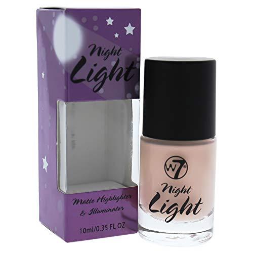 W7 Night Light Matte Highlight & Iluminate Highlighter, 2er Pack(2 x 10 milliliters)