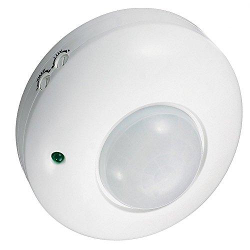 Maclean Energy MCE19 - Detector Sensor de movimiento de superficie en techo 360º