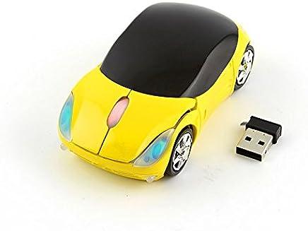 49a4e6e1501 CHUYI Cool Sport Car Shaped Mouse 2.4GHz Wireless Car Mouse Ultra Small  Optical Mouse Mini