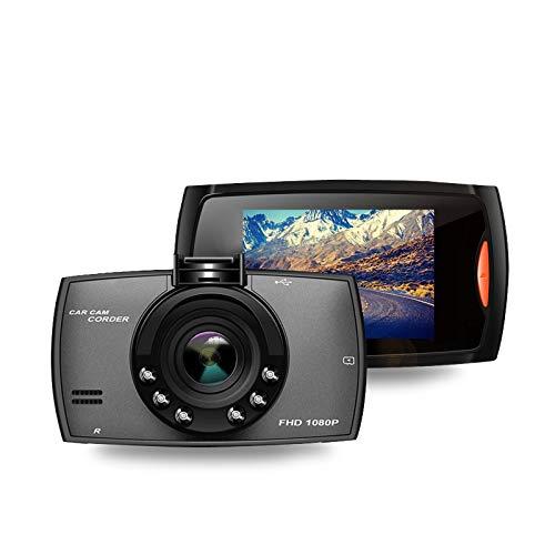 Cámara de Tablero Registrador de conducción Coche DVR Dash Cámara Full HD 1080P 2.2'Registro de círculo de círculo Visión Nocturna de Gran Angular Dashcam Video Registrador