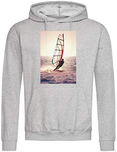 Epicwinclothing Kite Surfing Sudadera con Capucha Medium