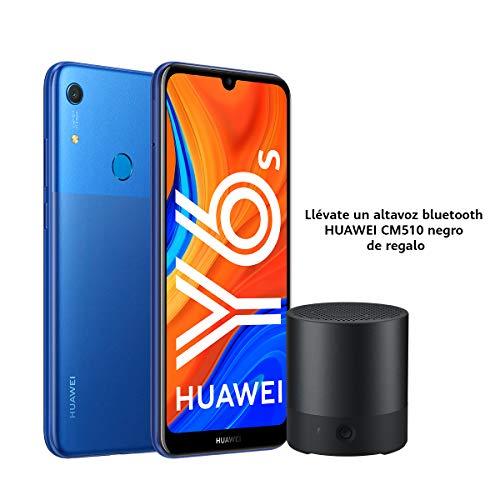 """Huawei Y6s - Smartphone de 6.09"""" (RAM de 3 GB, Memoria de 32 GB, Cámara trasera de 13MP, Cámara frontal de 8MP, EMUI 9) azul +  CM510"""