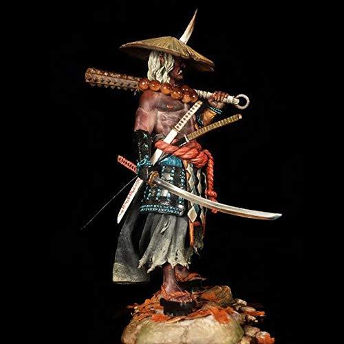 SHUANGBING Decoracion Escultura Estatua 1/18 Figura De Resina Kit Samurai Japonés