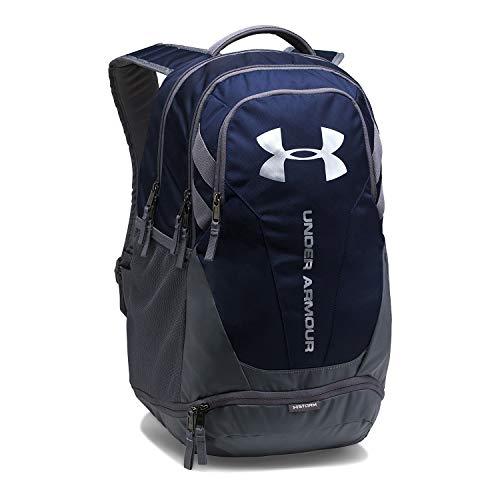 UNDER ARMOUR (アンダーアーマー) UA Hustle 3.0 Backpack [1294720] (Midnight Navy/Graphite_410)