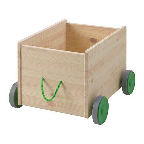 IKEA FLISAT Spielzeugwagen aus massiver Kiefer