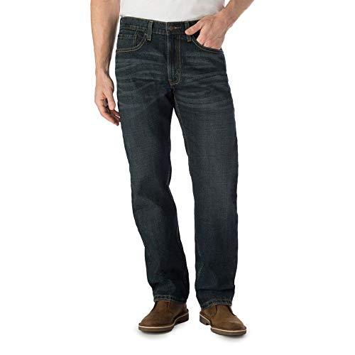 Signature by Levi Strauss & Co. Gold Label Men's Regular Fit Flex Jeans, Westwood #1, 44W x 32L