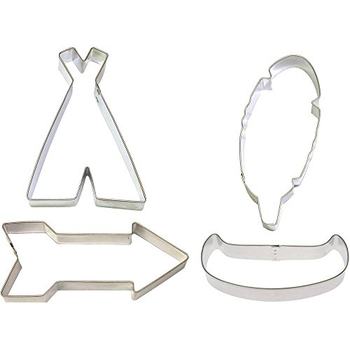 Foose Native Tribal Cookie Cutter Set 4 Pc HS0404