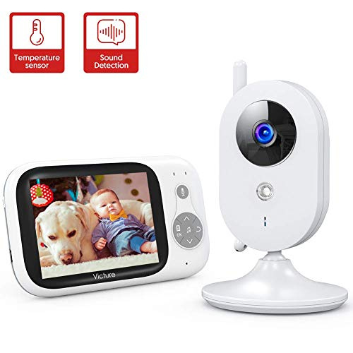 Victure Babyphone mit Kamera, Video Baby Monitor Neues 2020 mit 3,2