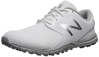 New Balance Women's Minimus SL Breathable Spikeless Comfort Golf Shoe, White, 9.5 M