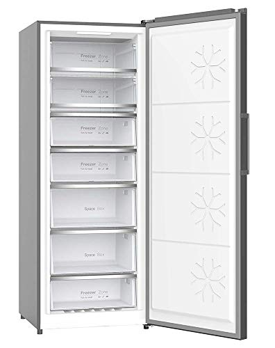CONGELADOR VERTICAL CV-870IX INOX INVERTER INFINITON (A++, NO FROST, 380L, Puerta reversible, Termostato regulable, Independiente)