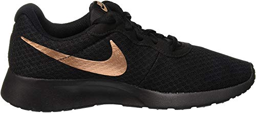 Nike Damen Wmns Tanjun Gymnastikschuhe, Schwarz (Black/Mtlc Red Bronze 005), 40.5 EU