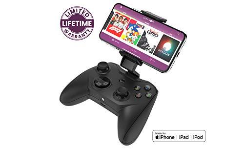 RotorRiot - Controlador Remoto, Joystick para Drones, Compatible con Apple Arcade y dispositivos iOS/iPhone a través de Lightning Cable, Botones L3/R3 para una experiencia de juego mejorada, 1000+ App