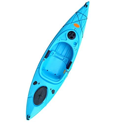 NL El Hombre Canoa con remos de Aluminio, Asiento de Aluminio, Serie Profesional Inflable Pesca en Kayak, combina Pedales Mecánica Humanos y Suela Diseño