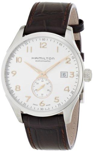 Hamilton H42515555 - Orologio da polso, analogico automatico, pelle, marrone