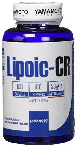 Yamamoto Nutrition Lipoic CR Integratore Alimentare - 100 Capsules