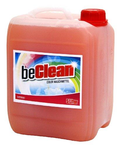 Color-Flüssigwaschmittel beclean red-orange 5 Liter Kanister