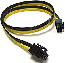 Pcie 6 Pin Male to 6 pin Male PCI Express Power Adapter Extension Cable Modular Power Supply Cable for Graphics Video Card 32 inches (81cm) 16 AWG TeamProfitcom