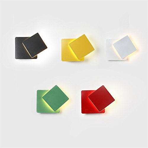 5151BuyWorld lamp, modern, eenvoudig, Scandinavisch, creatief, kleurrijk, Macaron, plafondlamp, gemonteerd, Ridor en kinderkamer, LED, wandlamp, hoogwaardige kwaliteit