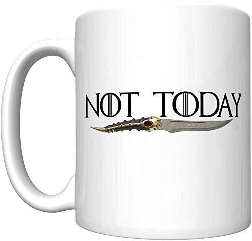 Not Applicable No Hoy con la Daga de Catspaw (Arya Stark, Juego de Tronos) [H] Taza