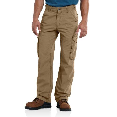 Carhartt Force Tappen - Pantaloni Cargo da Uomo, 36 W/34 L, Colore: Marrone