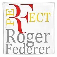 ケース ロジャーフェデラー テニス 王者 タペストリー壁掛けリビングルーム寝室寮部屋家の装飾ポスター
