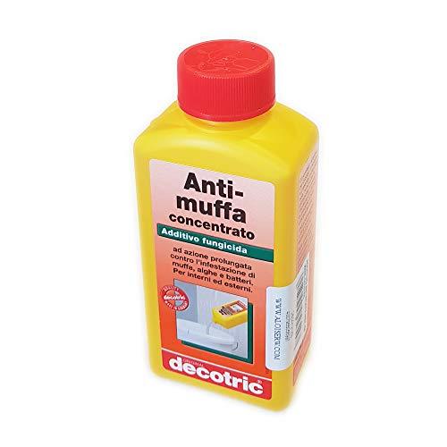Decotric 250ml additivo antimuffa concentrato per 10-15lt di idropittura