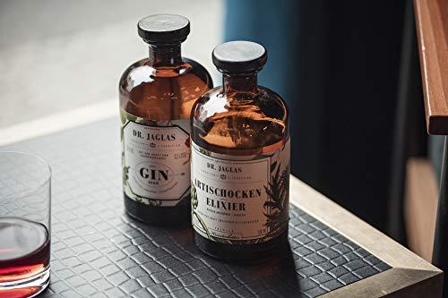 Dr. Jaglas Gin Seng | Wacholderbeer-Spiritus als Einzelflasche mit 500 ml | 50% Vol… - 9
