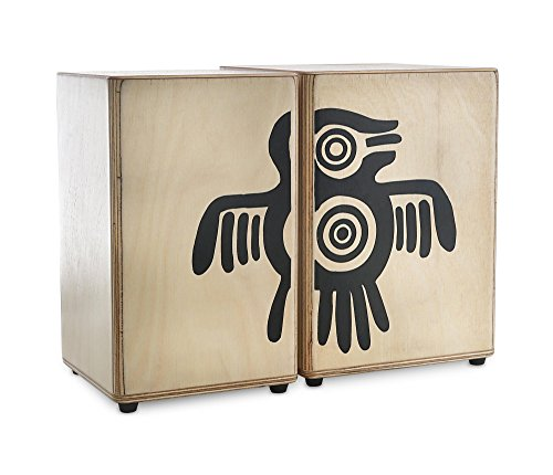 Bongos peruanos de madera XDrum