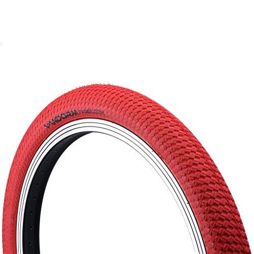 Vandorm 50,8x 5,1cm Drifter R2R BMX Farbige Fahrrad Reifen, Fahrrad, Drifter R2R, rot, 20