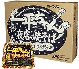 MYOJO IPPEI-CHAN YOMISE YAKISOBA INSTANT NOODLE CASE [12pcs] by Myojo