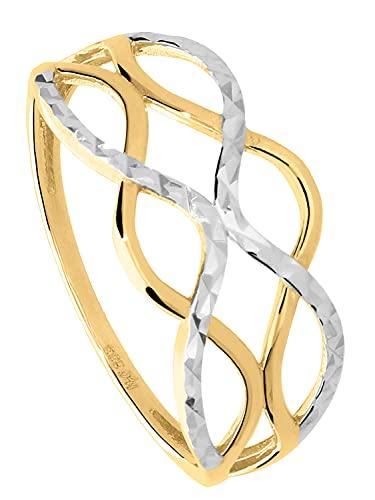 My Gold Mujer 8 k (333) oro bicolor 8 quilates (333) Sin piedra