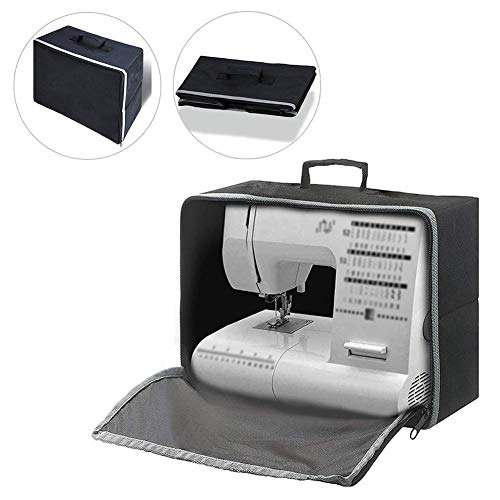 Máquina coser cubierta polvo estuche transporte -
