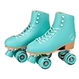 C SEVEN C7skates Cute Roller Skates for Girls and Adults (Aquamarine, Women's 10 / Men's 9)